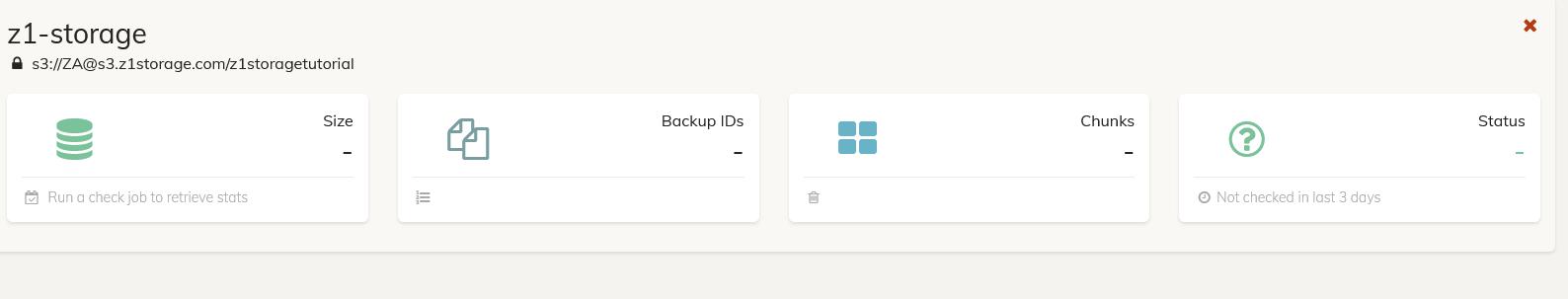 Storage Added